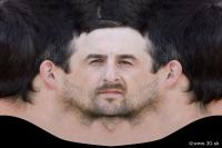Man head premade texture 0001